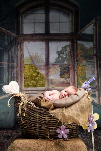 Newborn-Fotoshooting im Fotostudio in Köln