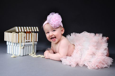 Baby-Fotoshooting Fotoshoot im Fotostudio