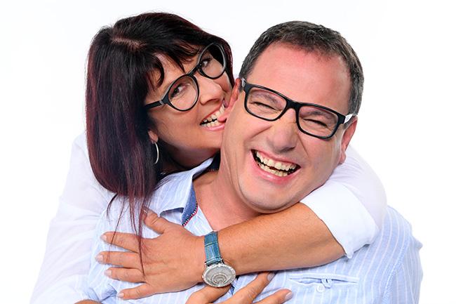 Partnerfotoshooting Annette und Rald im Fotostudio koeln