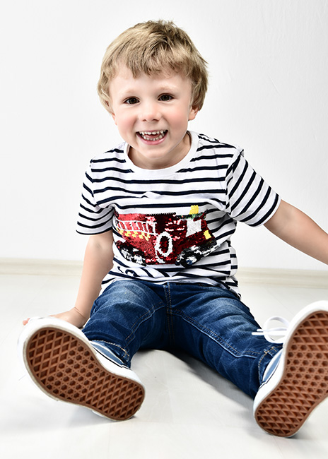 Kindershooting im Fotostudio